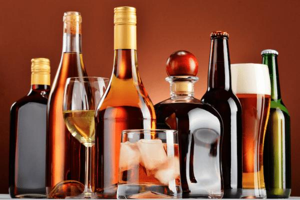 Bebidas alcohólicas.